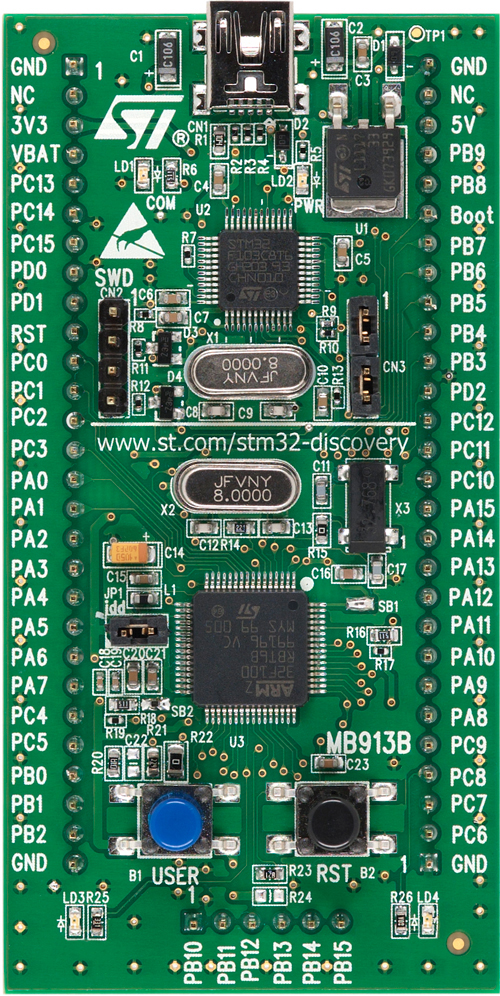 STMicroelectronics STM32VLDISCOVERY