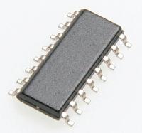 74HC4053D  Технология HC, мультиплексор