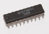 КР1533ИР22  Цифровая интегральная схема транзисторной...