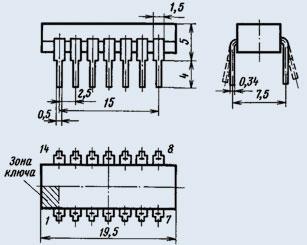 Микросхемы К118УН1Б представляют собой двухкаскадные усилители с рабочей частотой до 5 МГц.