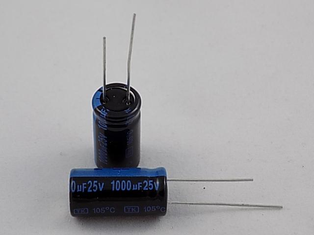 JB - ECAP 1000/25V 1021 105C