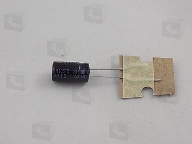 JB - ECAP 47/50V 0611 105C