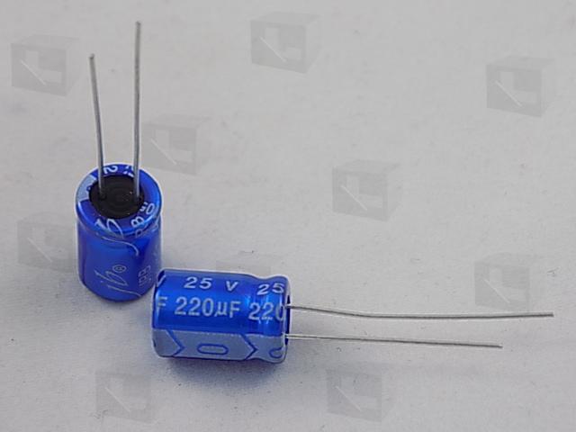 JB - ECAP 220/25V 0811 105C