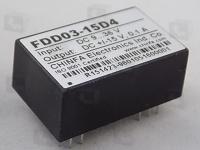 FDD03-15D4  DC/DC преобразователь мощностью 3 Вт, на...