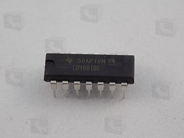 Texas Instruments CD4001BE