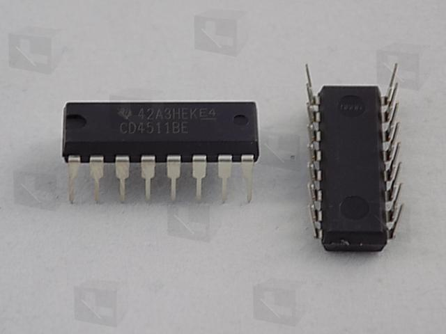 Texas Instruments CD4511BE