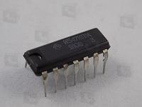 К547КП1А   Четыре аналоговых ключа на полевых...