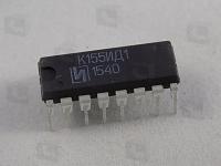 К155ИД1  Высоковольтный 4-разрядный дешифратор,...
