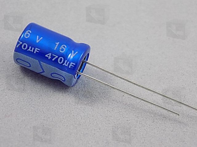 JB - ECAP 470/16V 0811 105C