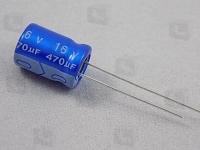 ECAP 470/16V 0811 105C  Электролитический алюминиевый конденсатор...