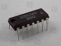 К155ЛА3  Микросхема представляет собой четыре...