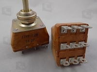 ПТ3-10В  Тумблер трехполюсный предназначен для...