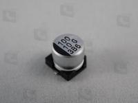 CA010M0100RED-0605  Электролитический алюминиевый конденсатор для...