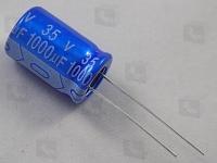 ECAP 1000/35V 1321 105C  Конденсатор алюминиевый радиальный...