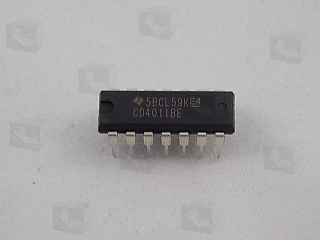 Texas Instruments CD4011BE