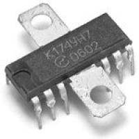 К174УН7  Микросхема представляет собой усилитель...