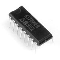 К176ИЕ8  Микросхема - десятичный счетчик с дешифратором...