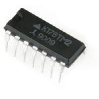 К176ТМ2  Микросхема К176ТМ2 представляет собой 2...