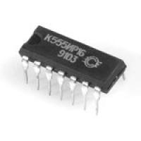К555ИР16  Цифровая микросхема серии ТТЛ.Микросхема...