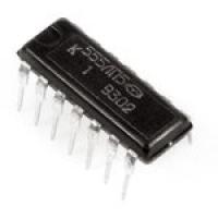 К555ЛП5  Цифровая микросхема серии ТТЛ.  Микросхемы...