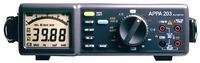 APPA 203    Измерение напряжения пост. 0,1 мВ … 600 В;...