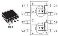 STMicroelectronics STS4DNF60L