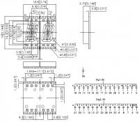 KCPDA04-102 7-сегментный светодиодный индикатор с высотой...
