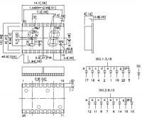 KCDA02-102 7-сегментный светодиодный индикатор с высотой...
