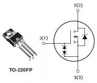 STMicroelectronics STP8NK80ZFP