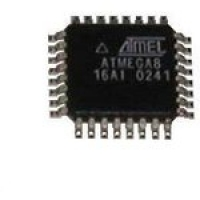 ATMEGA8-16AU  8- ��� AVR RISC ��������������� (8K ISP Flash,...