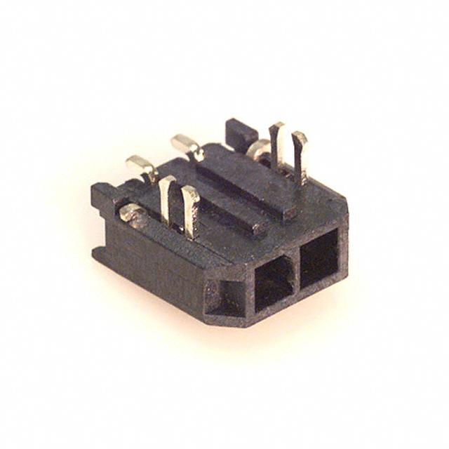 DC Power Cords Mega-Fit CABLE ASSY 2CKT DR 300MM BLK Pack of 20 45136-0203