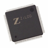 Z84C9010ASG IC 10MHZ Z80 KIO 100-LQFP