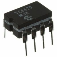 TC4420  MOSFET Gate Drivers Тип:Low Side Время...